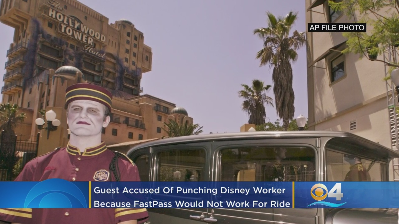 Disney employee punched in face by park guest angry over FastPass at Tower of Terror
