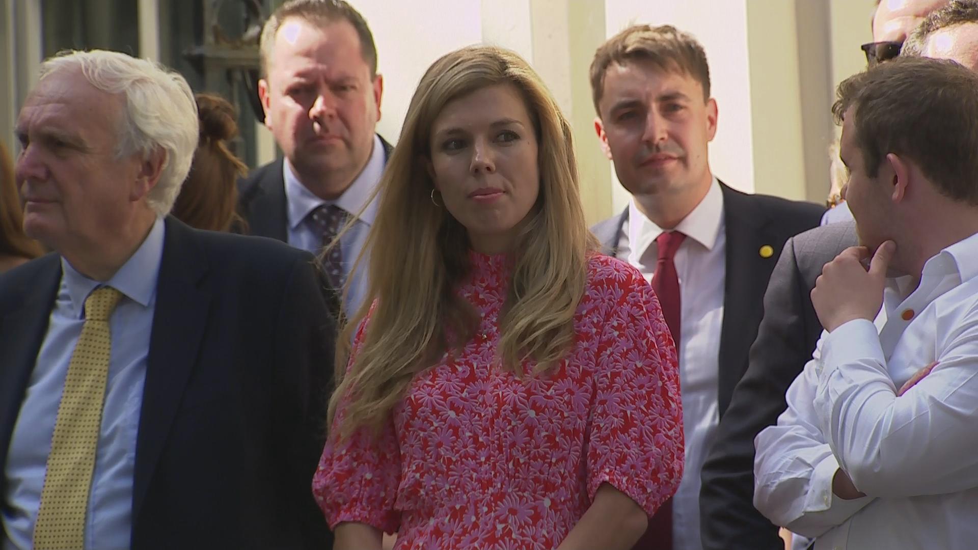 Boris Johnson's Partner Carrie Symonds WILL Move Into Downing Street