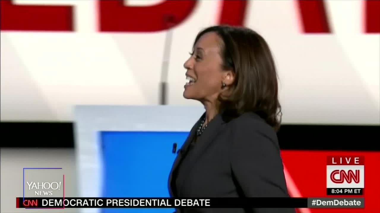 Kamala Harris Responds To Joe Biden's 'Kid' Comment