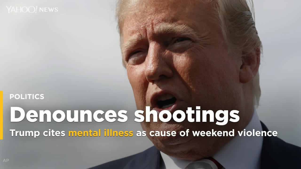 Trump Suggests Building More Mental Institutions To Curb Gun Violence