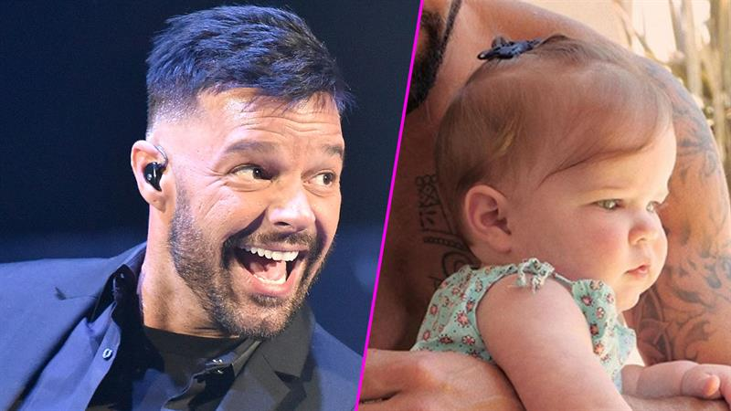 Meet Ricky Martin's daughter, Lucia, in singer's first-ever Instagram of his 7-month-old baby