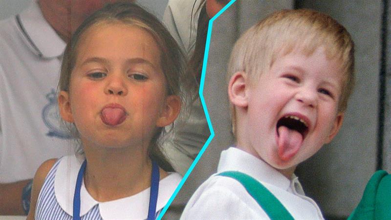 Princess Charlotte's viral move was actually aimed at her grandpa