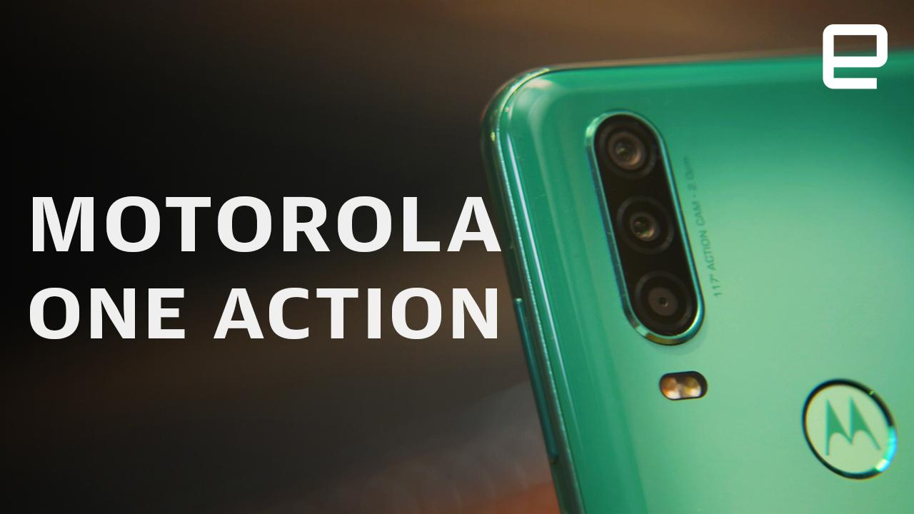 Motorola's latest cheap phone tries to double as an action camera