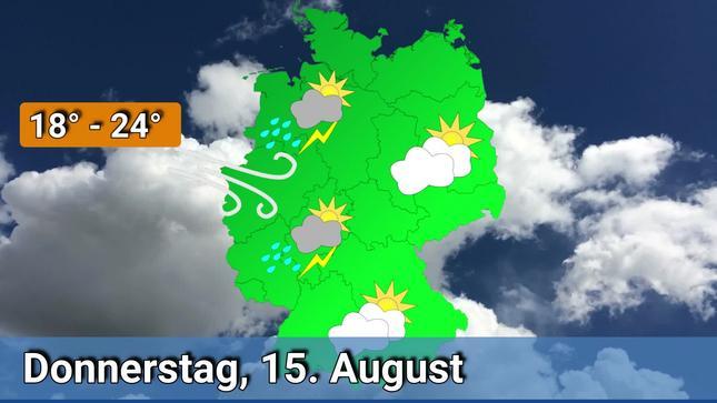 Schneeprognose Weihnachten 2019.Deutschland Wetter Vorhersage 15 Bis 18 August 2019