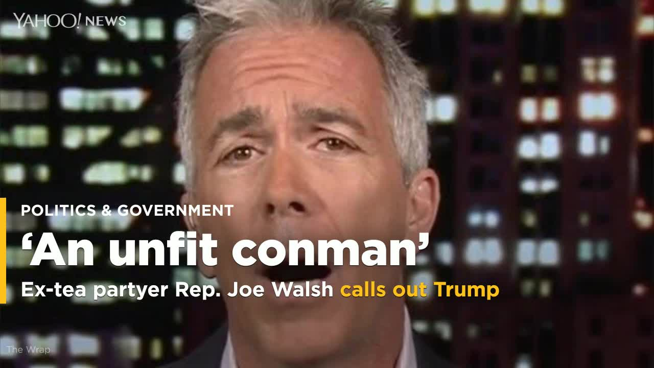 Tea Party Ex-Congressman Joe Walsh Expected To Mount Primary Challenge Against Trump