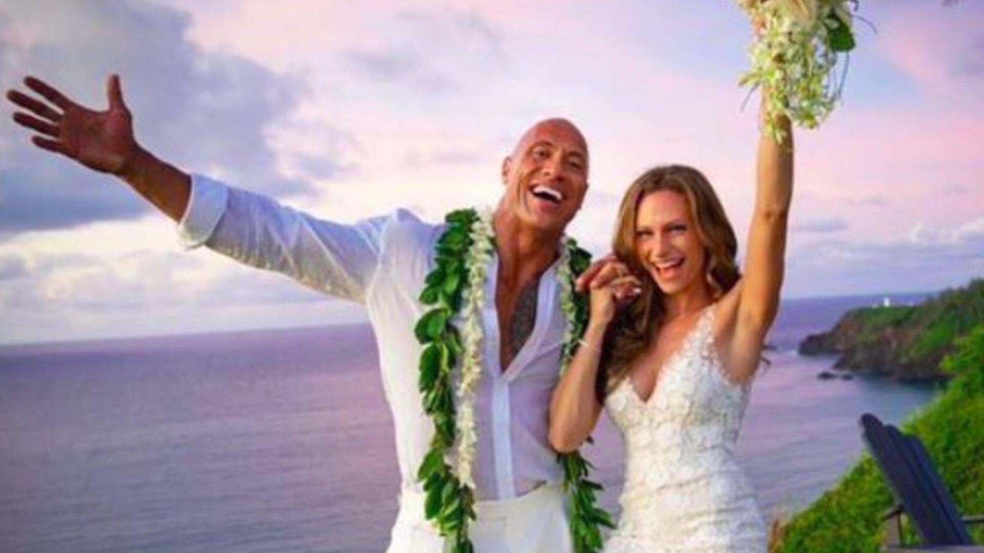 Dwayne 'The Rock' Johnson Marries Partner Lauren Hashian In Hawaii