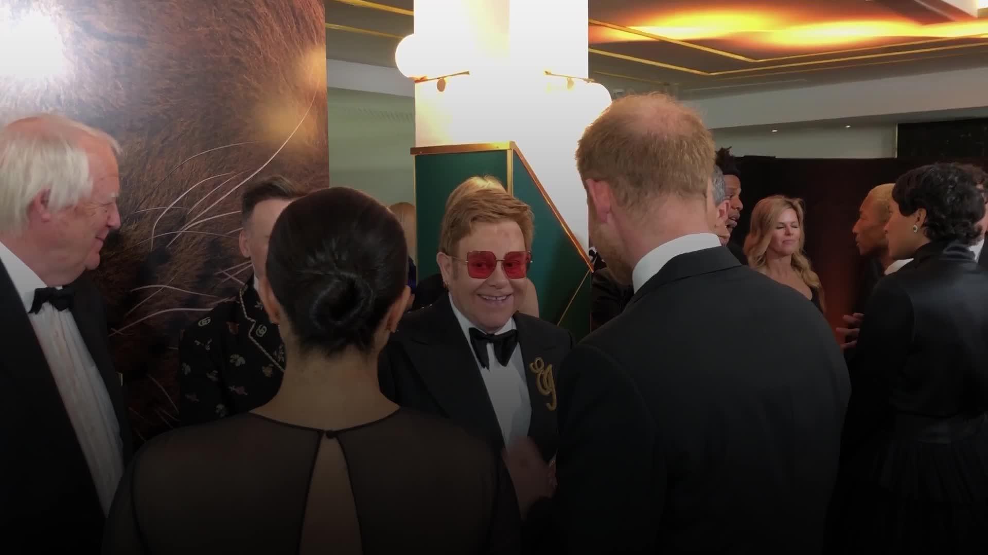 Elton John defends Meghan Markle and Prince Harry after private plane backlash
