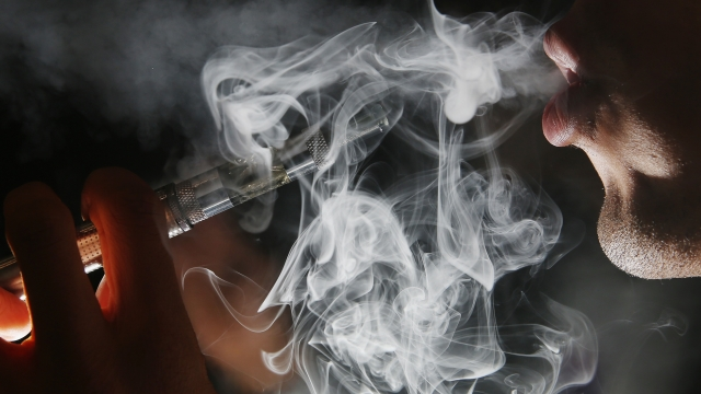 CDC Launches Probe Into Surge Of Severe Lung Disease Cases Linked To Vaping