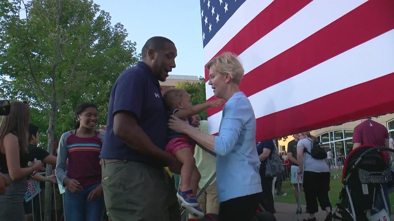Elizabeth Warren's First Campaign Event In Minnesota Draws Her Biggest Crowd Yet