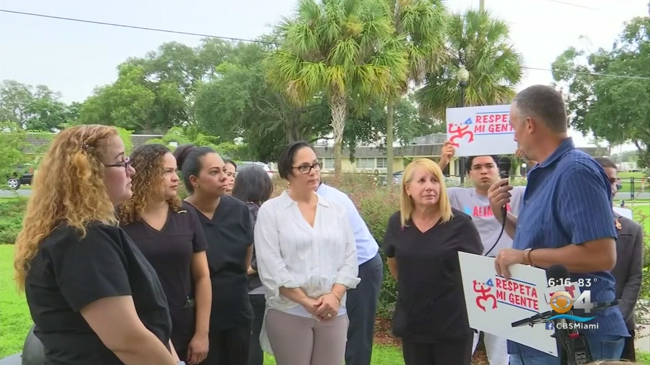 Florida employees claim clinic has forbidden them from speaking Spanish at work