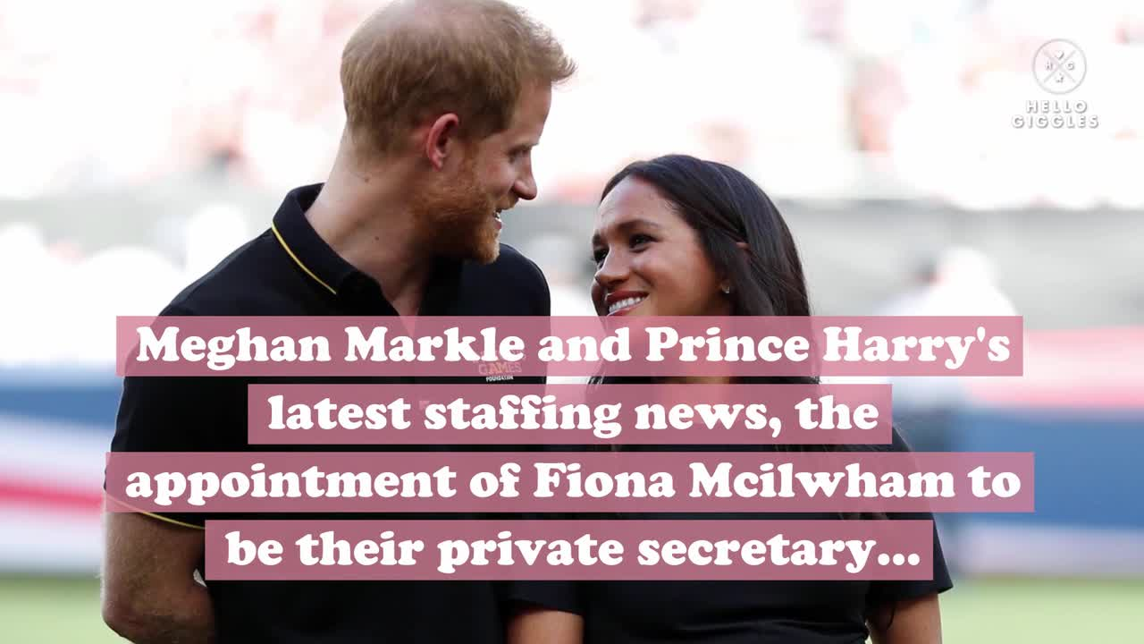 Prince Harry and Meghan Markle's top aides stem from the Obama administration