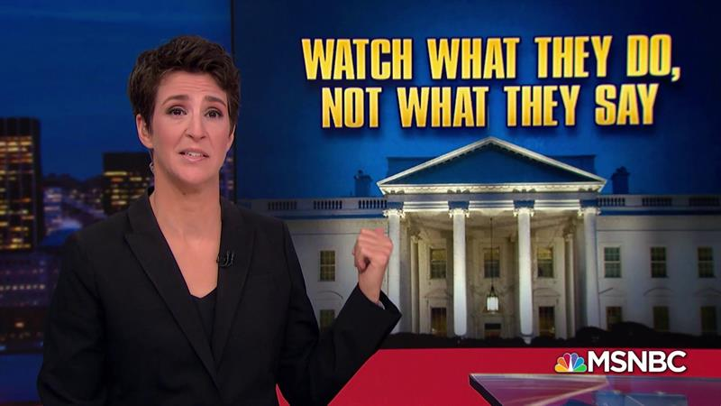 Rachel Maddow Shares Mantra She Uses To Deal With Donald Trump's Lies