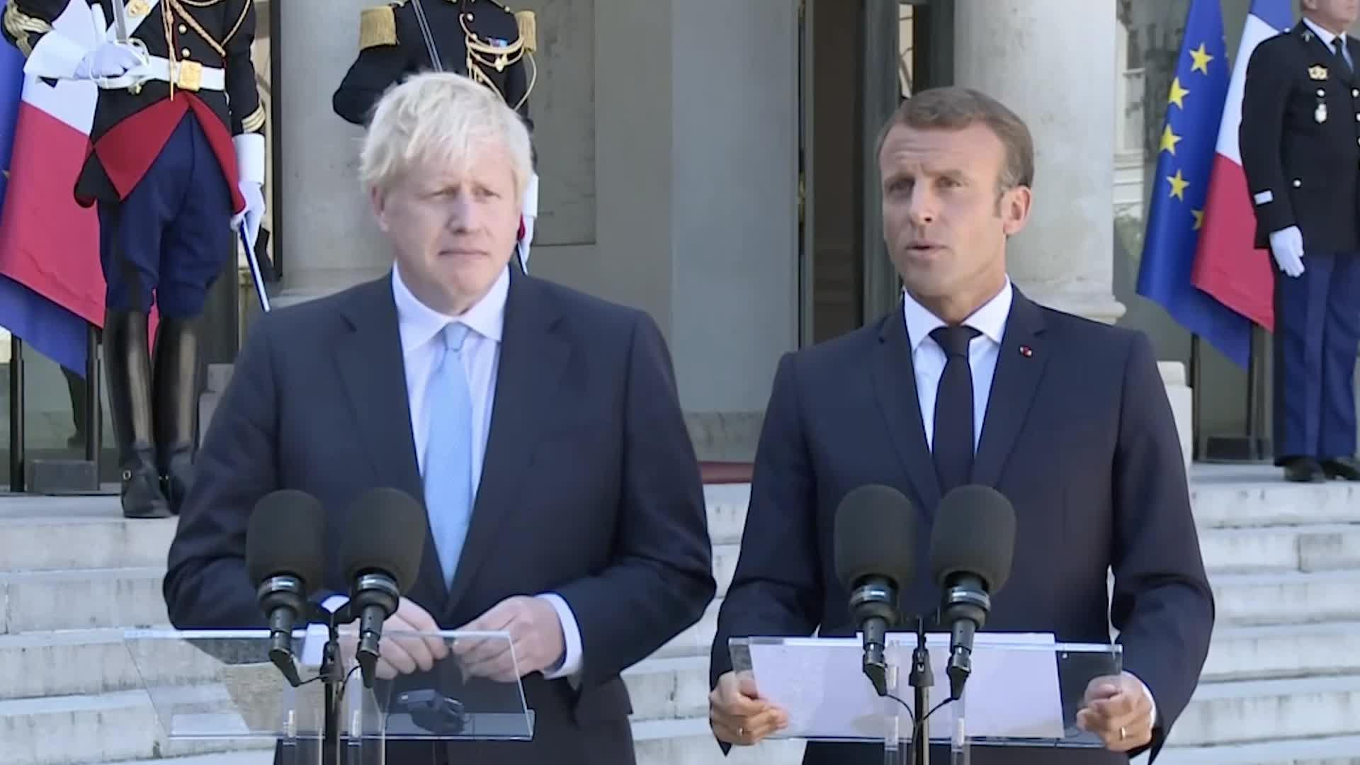 Macron Warns Johnson: France Will Be 'Hard Boy' Of EU In Fresh Brexit Talks