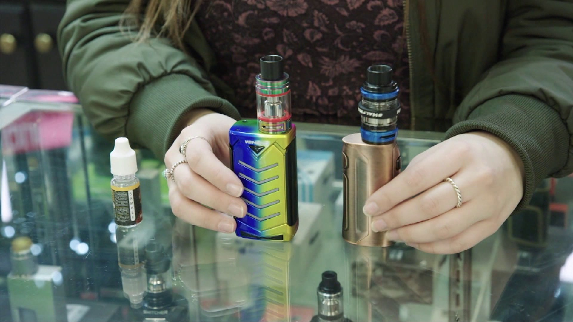 Patient's death is possibly the first in the U.S. related to vaping
