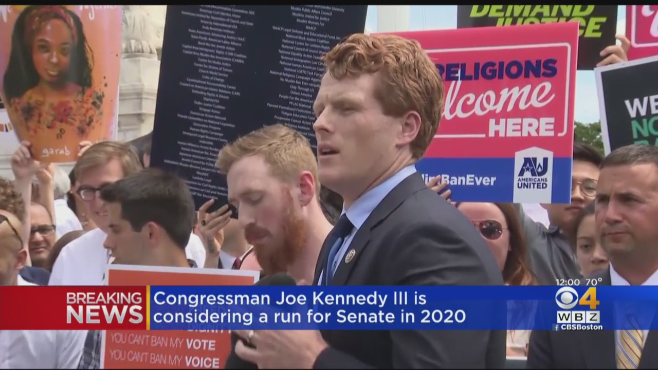 Joe Kennedy III To Announce Senate Run In Massachusetts: Reports