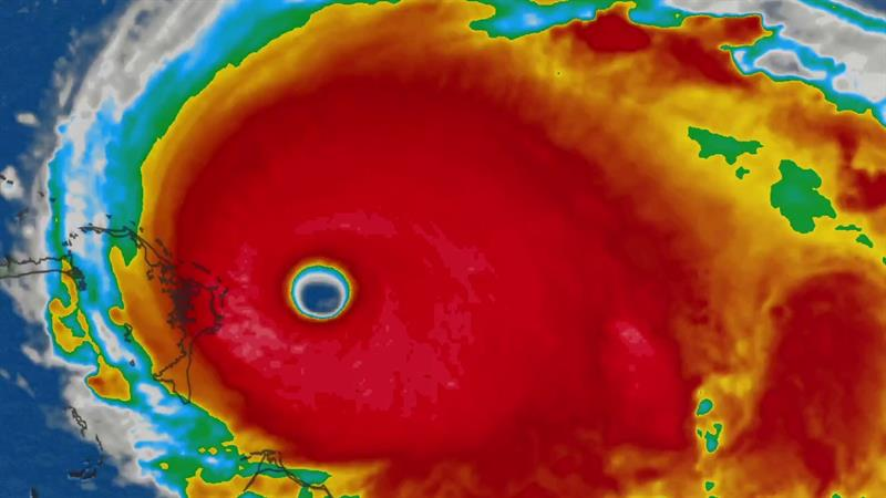 Hurricane Dorian Now a Category 5 As it Hurtles Toward the East Coast