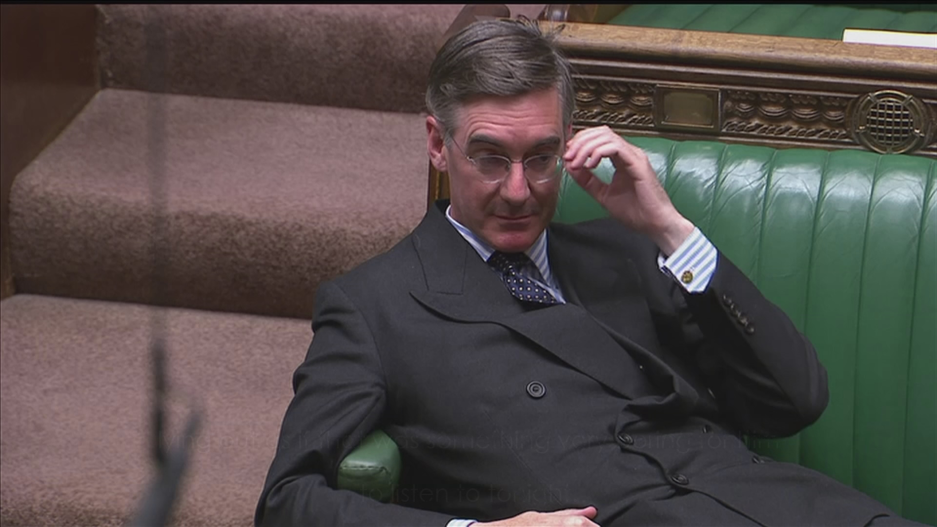 MPs Shout 'Sit Up' As Jacob Rees-Mogg Lounges Across The Commons Benches