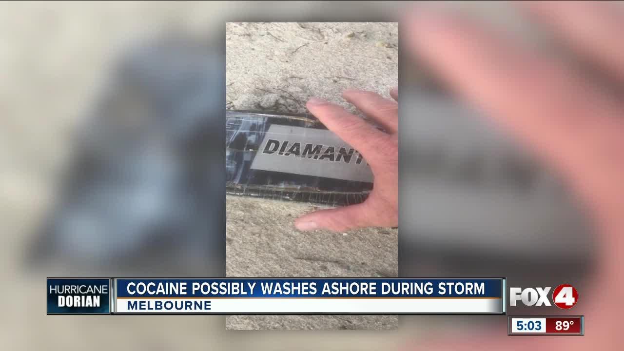 Hurricane Dorian sends bricks of cocaine onto Florida beaches