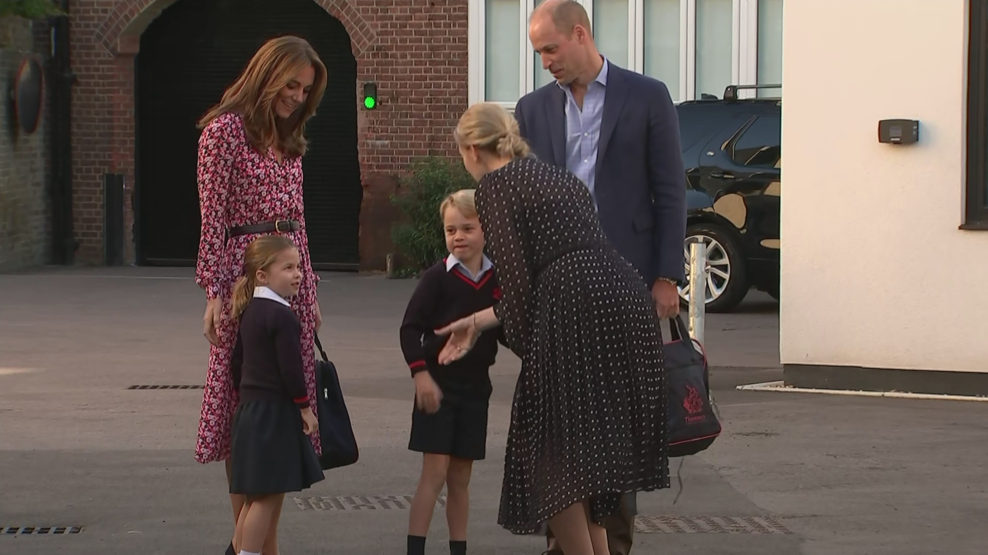 Internet delighted by Princess Charlotte's sassy move on first day of school