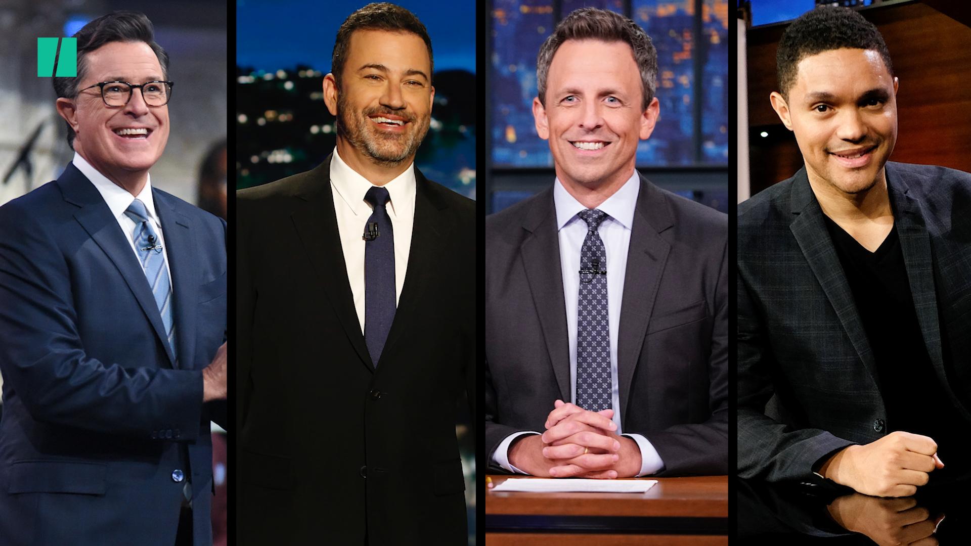 Late Night Hosts Roast Donald Trump's Sharpie-Altered Hurricane Map