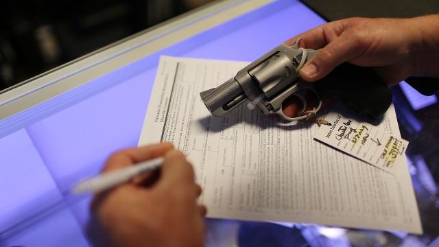 White House Pitches Republicans On Draft Gun Plan To Broaden Background Checks