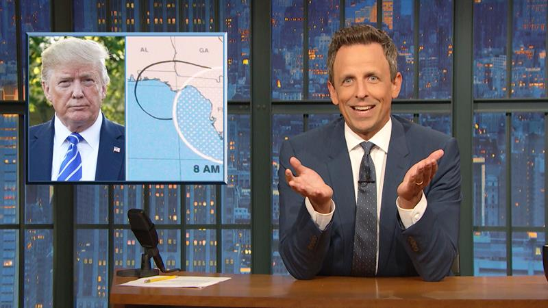 Seth Meyers Pinpoints 'Damning' Moment Donald Trump Gave Himself Away On 'Sharpiegate'