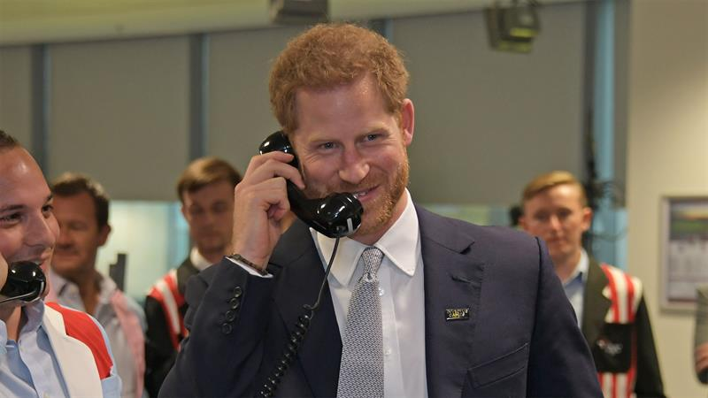 People Can't Believe That Prince Harry Would, Um, Close His Own Car Door