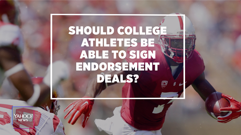 California Passes Law Allowing College Athletes To Make Money