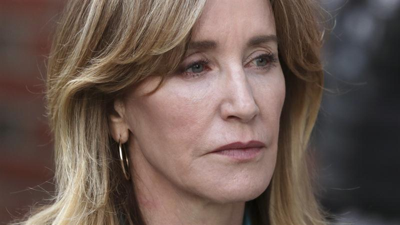 Felicity Huffman sentencing: William H. Macy accompanies wife to court for first time