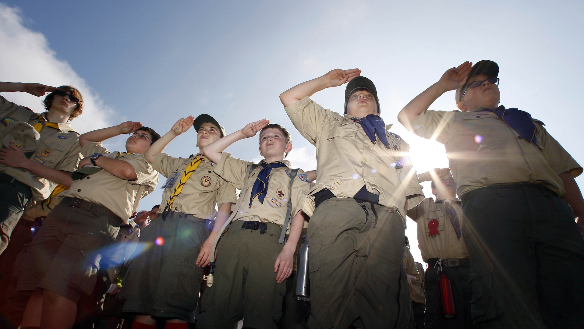 Boy Scout leader sang naked in front of kids, and organization failed to investigate: Lawsuit