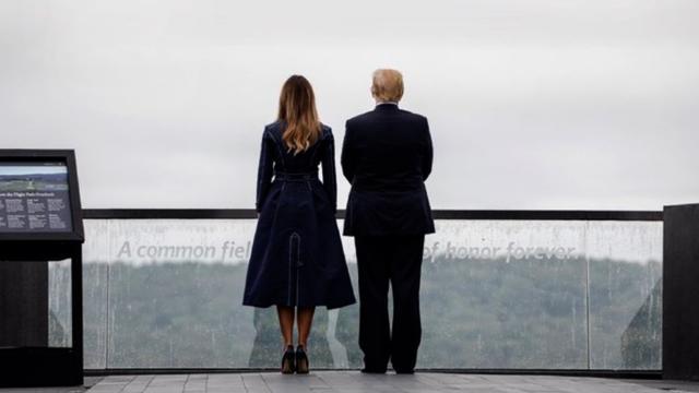 White House Calls Criticism Of Melania Trump's 9/11 Coat 'Ridiculous'
