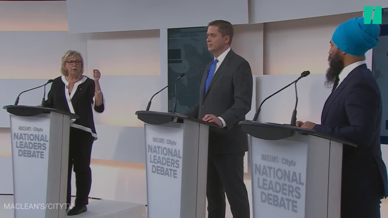 May Lampoons Scheer By Calling Him A Ventriloquist Puppet For Trump