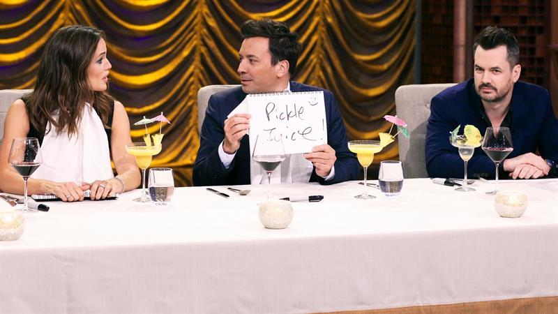 Jennifer Garner's Taste Buds Get Violated In 'Secret Ingredient' On 'Tonight Show'