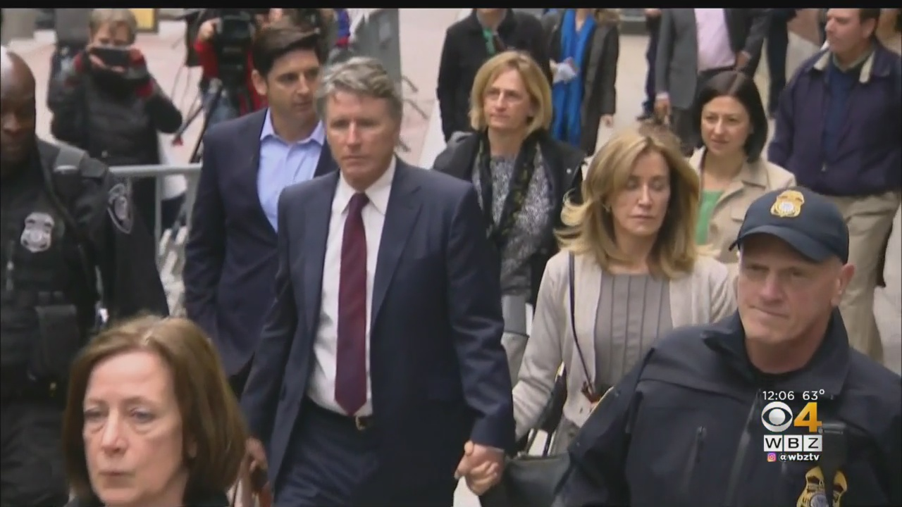 Felicity Huffman sentenced to 14 days in prison: Details on her tearful appearance in Boston courthouse