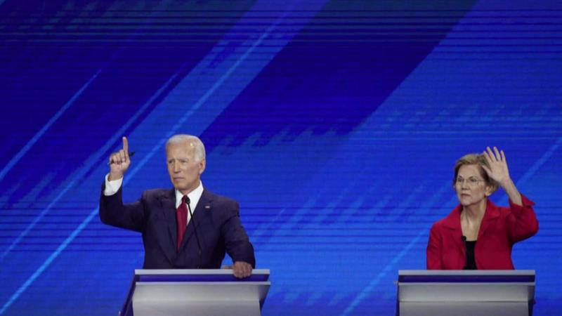 The Surprise Star Of The Democratic Debate Was On Stage, But Never Said A Word