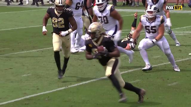 Saints hosed again: Refs wipe out New Orleans TD with blown call vs. Rams