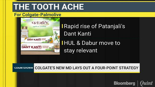 Colgate MD's Four-Pronged Strategy To Regain Lost Market Share