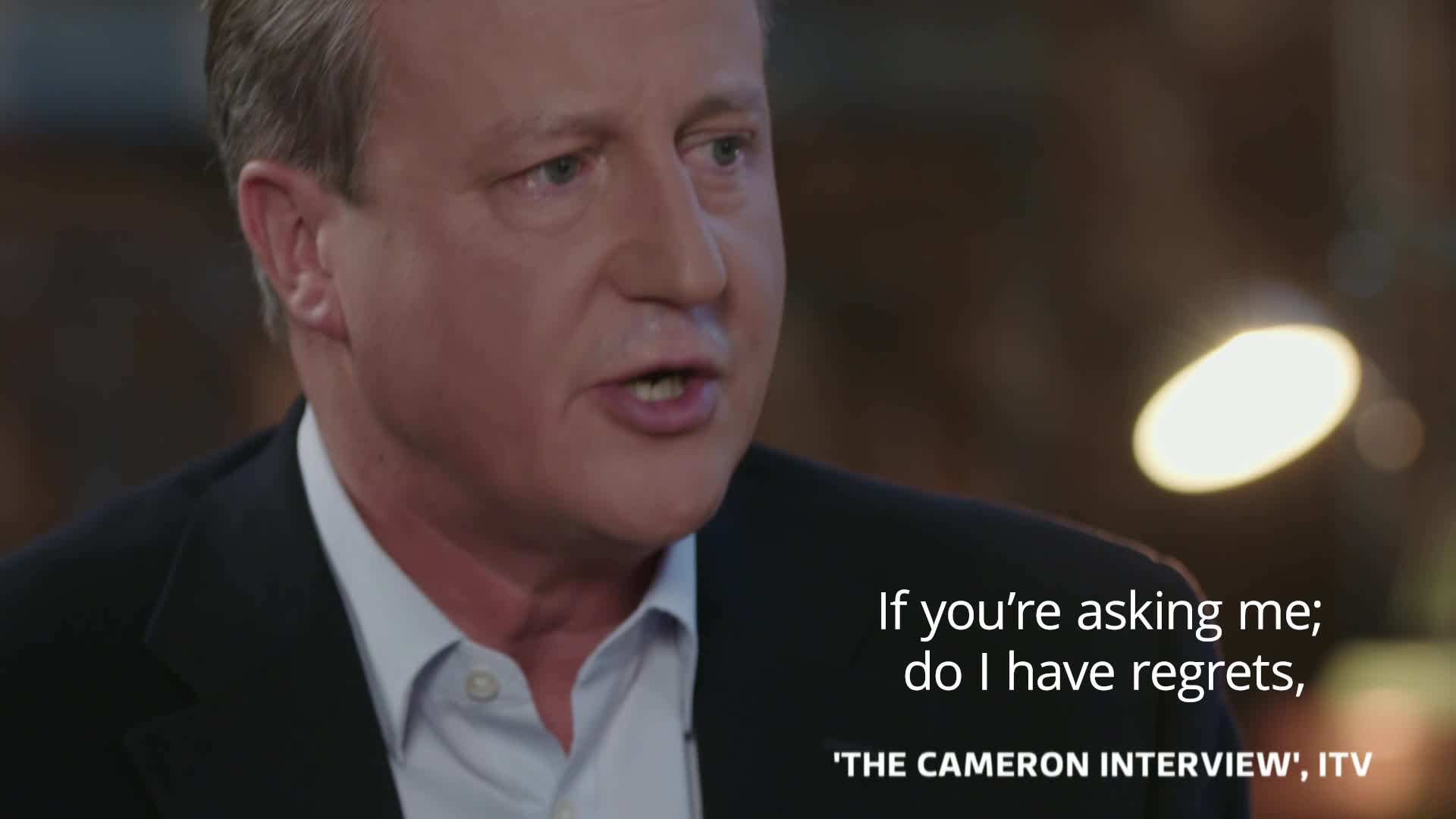 David Cameron Says Cuts Should Have Been Deeper And Made Earlier