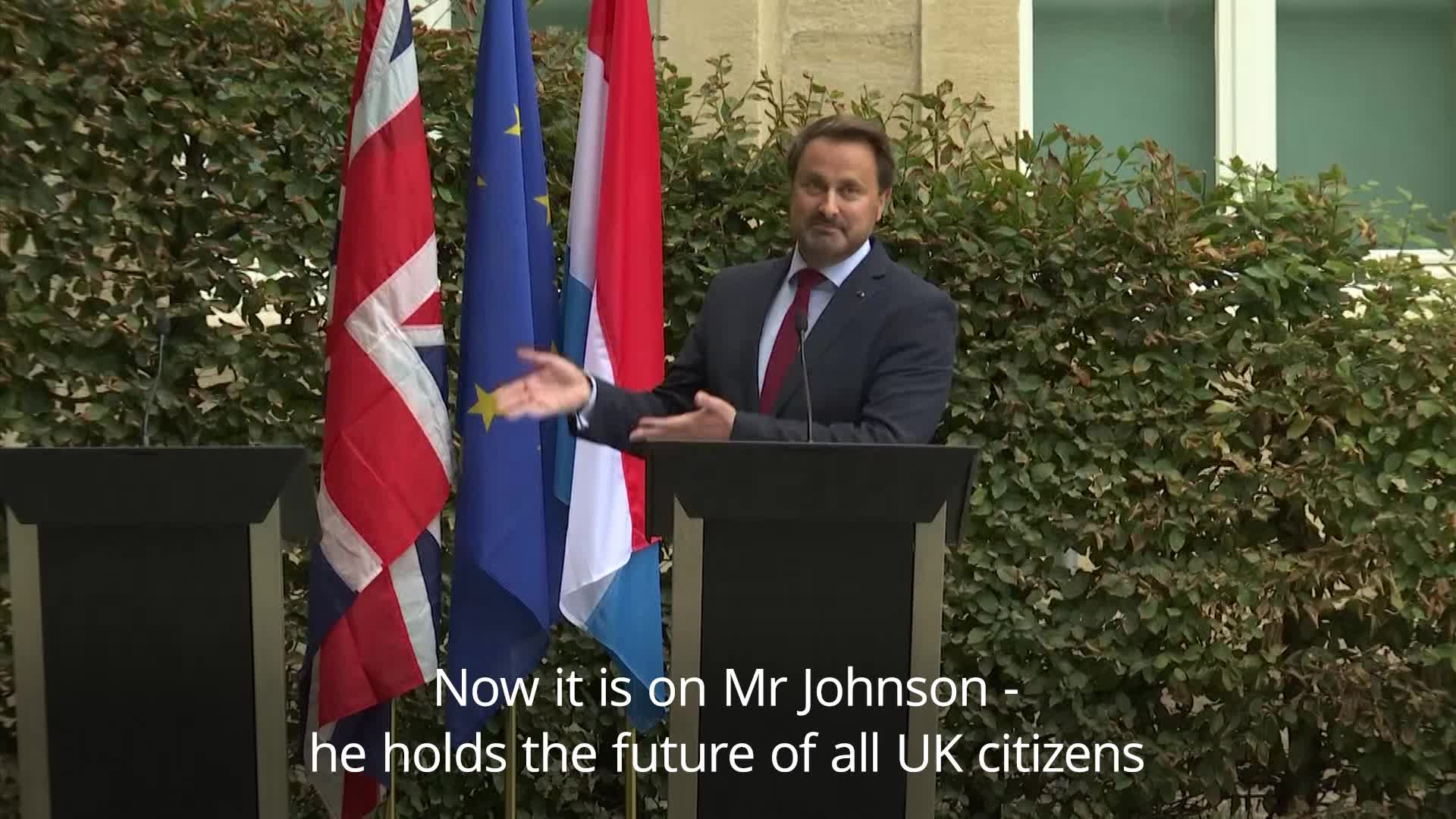 Boris Johnson's No-Show At Luxembourg Press Conference Spawns A Meme For The Ages