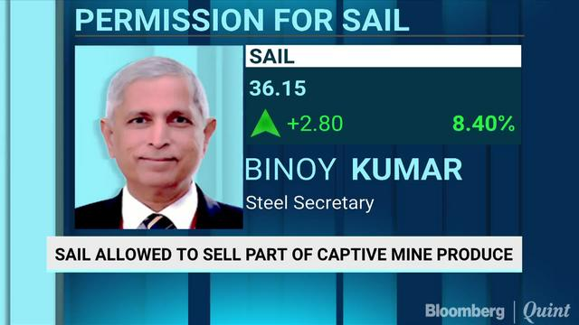 SAIL Allowed To Sell Part Of Captive Mine Produce