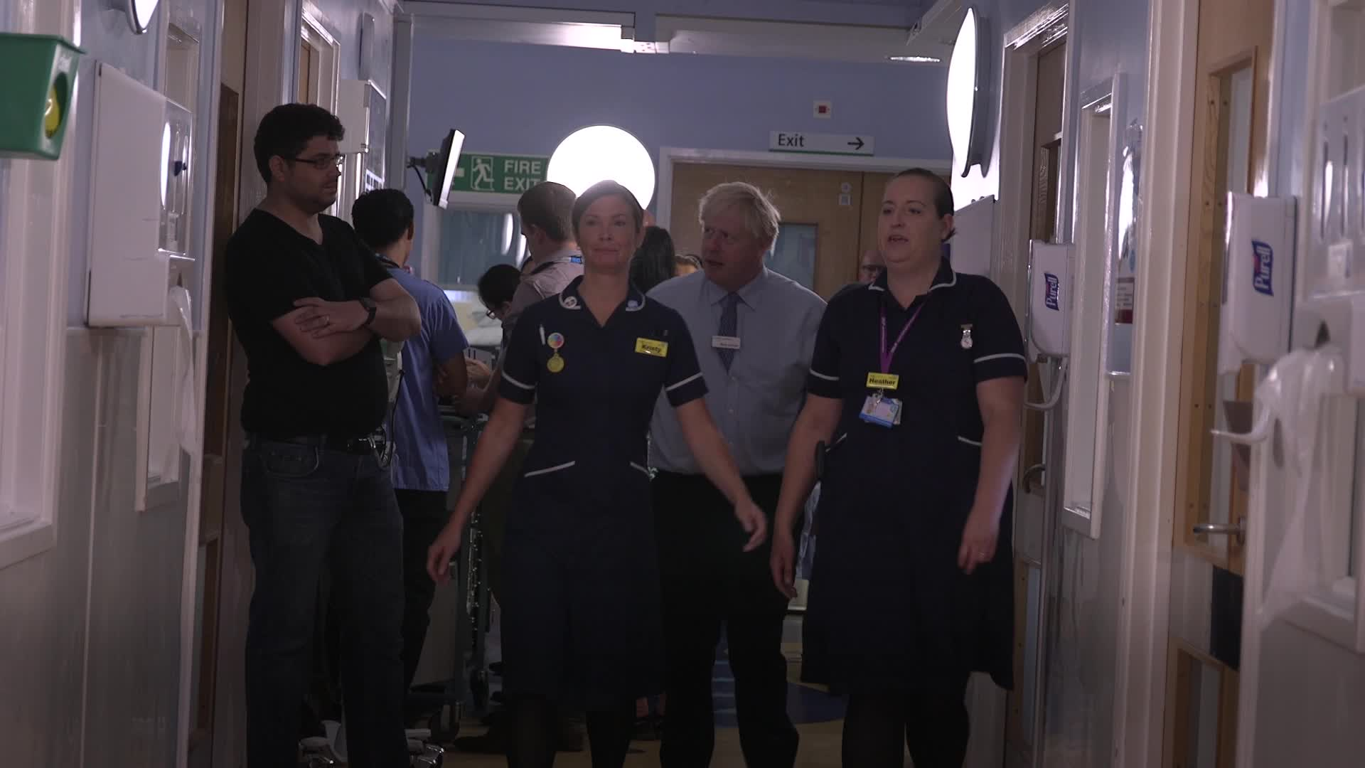 Boris Johnson Confronted By Angry Parent In Hospital For 'Destroying' NHS