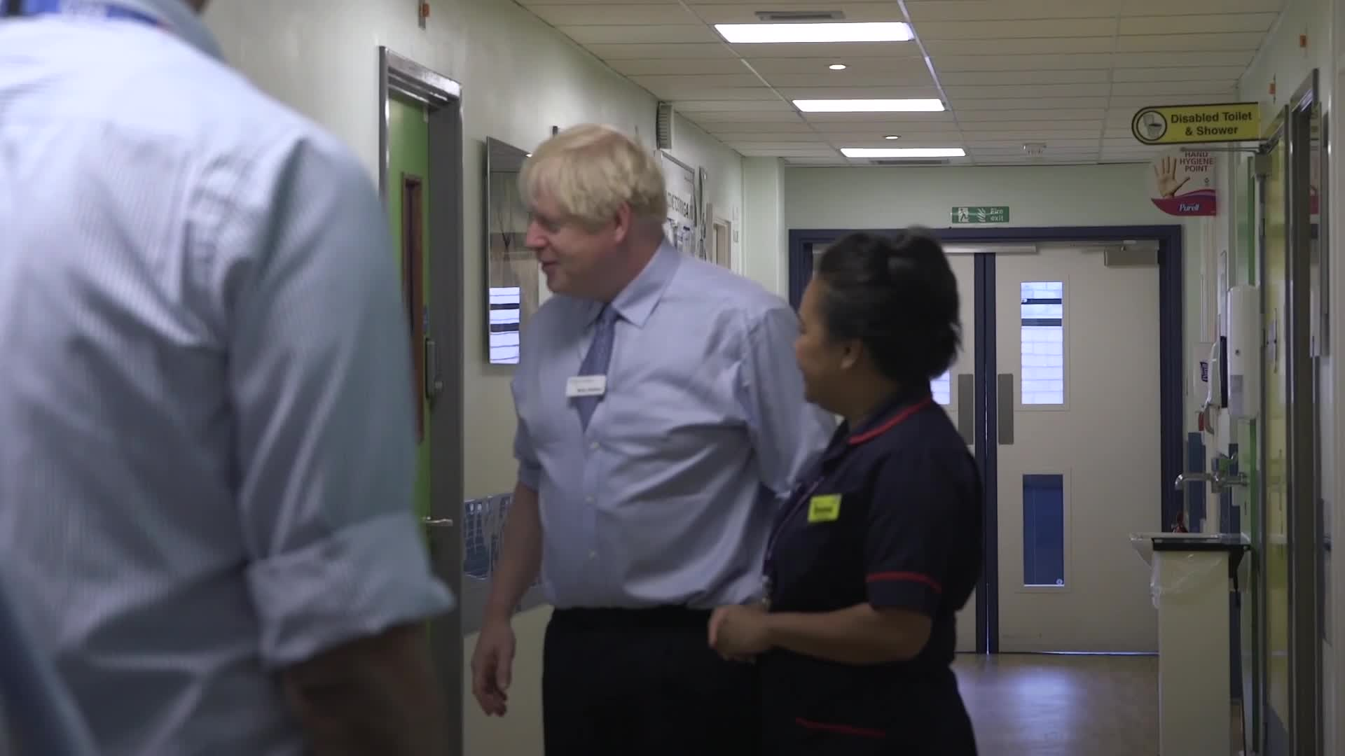Boris Johnson Confronted By Angry Father During Hospital Visit