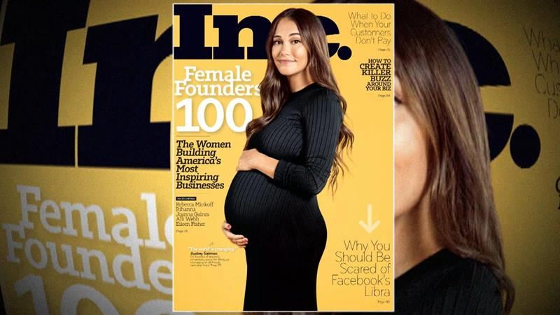 Audrey Gelman Celebrates Being First 'Visibly Pregnant CEO' On Business Magazine Cover