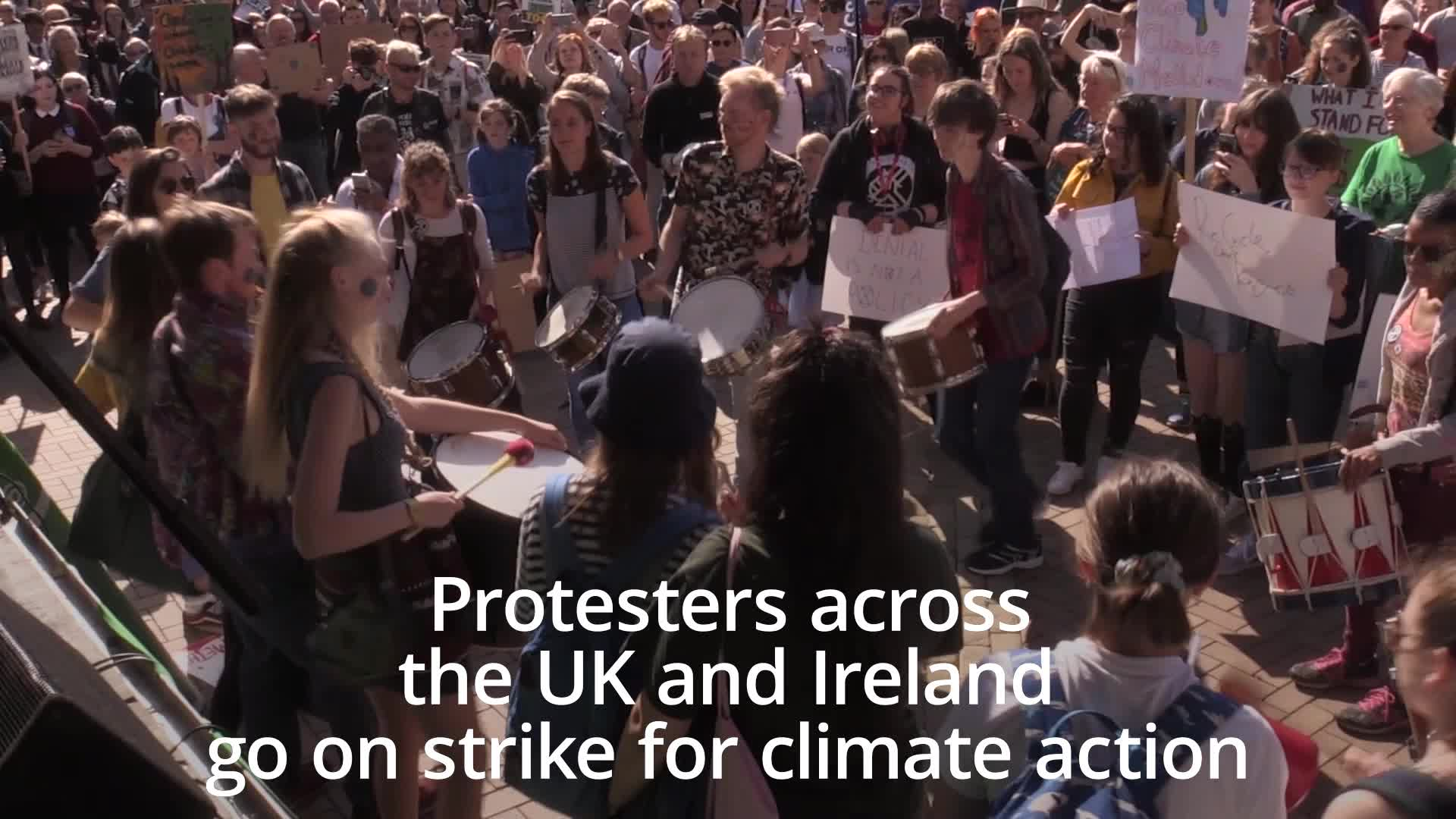 19 Climate Strike Pictures That Show How Massive Protests Really Are