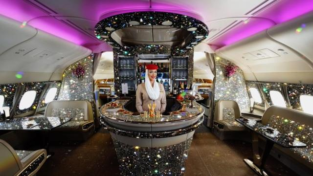 Emirates serves only one brand of champagne to their first class passengers