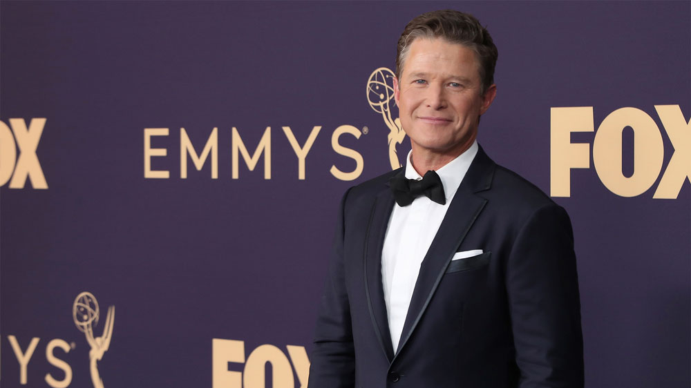 Billy Bush raises eyebrows as he returns to Emmys red carpet