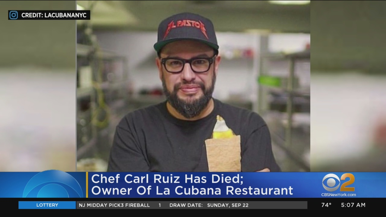 Food Network star Carl Ruiz's cause of death at 44 revealed: report