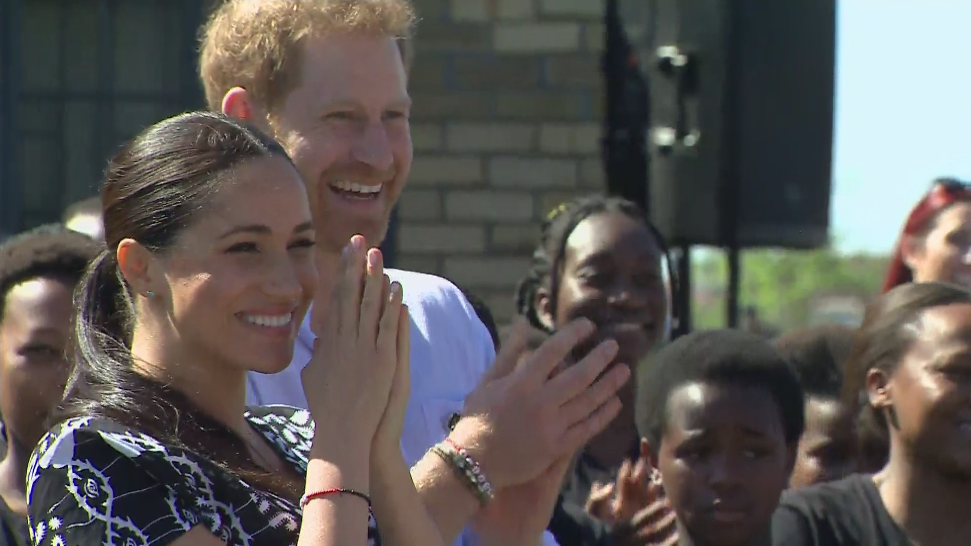 Baby Archie receives traditional African name