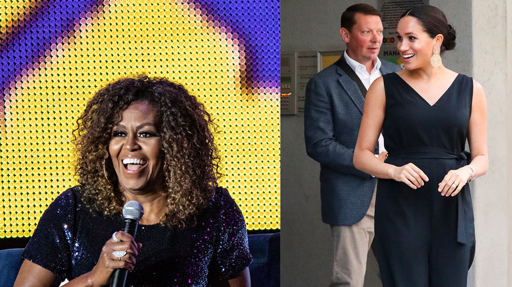 Michelle Obama Calls Meghan Markle 'An Inspiration' In Adoring Instagram