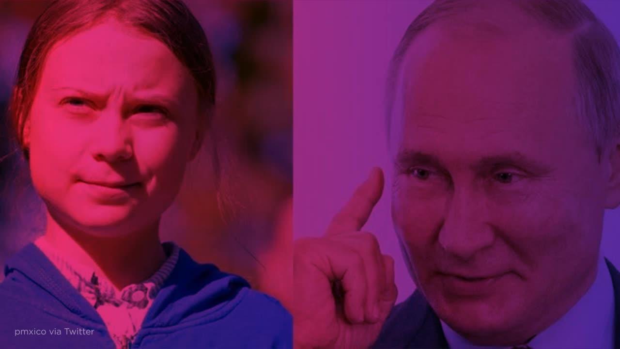 Greta Thunberg Just Sassed Putin With Her Classic Clapback Style